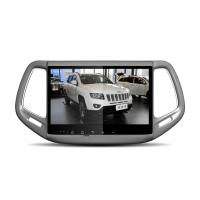 China IPS Capacitive Screen Android Car DVD Stereo 10.1 Inch With Jeep Compass on sale