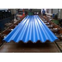 Quality Blue Powder Coated Corrugated Steel Roofing Sheets Used For Roofing Wall wholesale