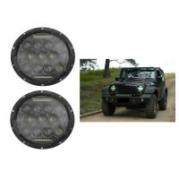 "Quality 75W 7"" DRL Fog JK Jeep Wrangler Headlights With High / Low H4 Or H13 wholesale"