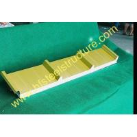 China Insulated Refrigerated Polyurethane Foam Sandwich Panel For Prefabricated House on sale