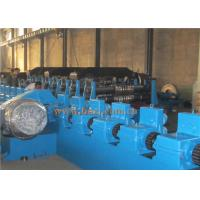 Quality GCR12 Steel Silo Roll Forming Machine , AC Motor Pipe Making Machine PLC Control wholesale