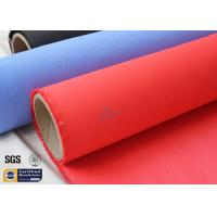 "Quality Fiberglass Fire Blanket 490GSM 3732 39"" Red Acrylic Coated Glass Fiber Fabric wholesale"
