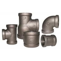 China Threaded Cast Iron Quick Connect Tee 1.6Mpa Working Pressure Stable Performance on sale