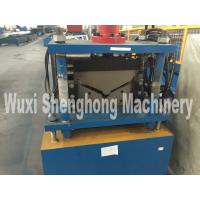 Quality Corrugated Roof Ridge Cap Roll Forming Machine Industrial GCr15 Roller wholesale