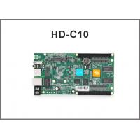 China HD-C10 rgb control system/ Asynchronous cascading controller/USB port full color controller on sale
