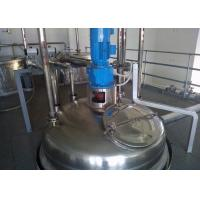 Quality High Capacity Liquid Detergent Manufacturing Machines With Filling Machine wholesale