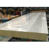 China A1 Fire Rated Soundproof Insulated Rockwool Sandwich Wall Panel on sale