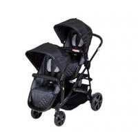 Quality double twin baby stroller 3 in 1 with car seats pushchair pram wholesale