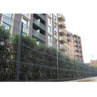 China Anti Corrosion PVC Coating Wire Mesh Fencing , Welded Wire Garden Fencing For Safe on sale
