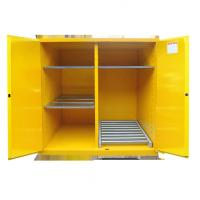 Quality Fire Prevention Drum Storage Cabinets Special Double Layer Sheet Steel Design wholesale