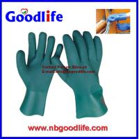 Quality Chemical Resistant Gloves, PVC Gloves, Fully Coated Gloves wholesale