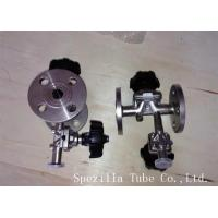 Quality TP304 TP316L SF1 Polished Santiary Fittings Valves For Beverage Dairy Wind Equipment wholesale