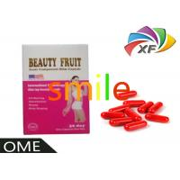 China Vanilla Soft Gel Natural Slimming Capsule Keep In Airproof , Cool And Dry Condition on sale