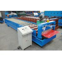 Quality New trapezoidal metal roofing wall panel tile sheet roll making forming machine wholesale