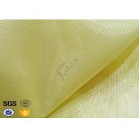 Quality Industrial Workwear Metal Kevlar Woven Fabric 250GSM Flame Retardant wholesale