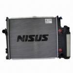 Quality Aluminum car radiator with plastic tank wholesale