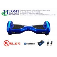 8 Inch Outdoors Electric Segway Board With Samsung Battery Protective Environmental Blue