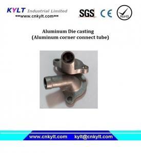 China Die Casting Aluminum Metal Alloy Auto Corner Tube on sale