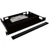 Quality 8 Port Fiber Optic Patch Panel Rack Mounted Convenient To Install / Dismantle wholesale