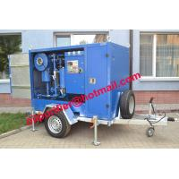 China mobile trailer shelter transformer oil filter purifier machine, oil filtration and reclamation equip china supplier on sale