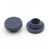 China OEM Non Spill Vials 20mm Grey Butyl Rubber Stopper on sale