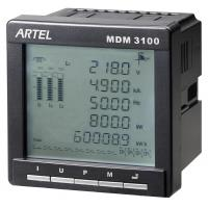 China Electrical Panel Multifunctional Digital Power Meter / AC Ammeter on sale