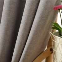 Buy cheap 100% Polyester Home Textile Fabric , Blackout Contemporary Curtain Fabric from wholesalers