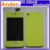 Quality LCD+Touch Noctilucent for Iphone4G+back Cover+home Button wholesale