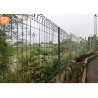 China BRC Korean Style Welded Wire Mesh Roll Top Fence BRC Curved metal Wire Mesh Fencing on sale