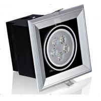 Quality 5500 Pure White Led Grille Spot Light 5 Watt For School Recessed Spot Led Lights wholesale