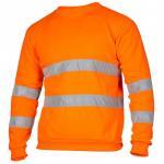 Quality Hi Vis Fleece Workwear Reflective Safety Sweatshirt wholesale