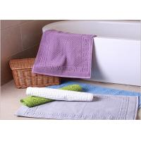Quality Decorative Hotel Bath Mats / Plush Bathroom Rugs Washable Disposable wholesale