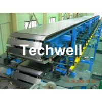 Quality Continuous Polyurethane Sandwich Panel Machine Line With 8m/min Forming Speed wholesale