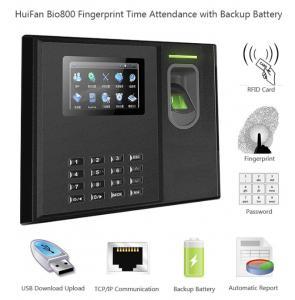 China HF-BIO800 Free SDK Biometric WIFI GPRS Fingerprint Time Recorder Battery Attendance System on sale