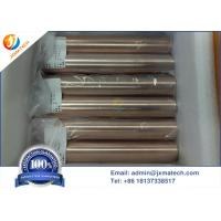 China Rwma Class 12 Elkonite Copper Tungsten , Resistance Welding Copper Alloy on sale