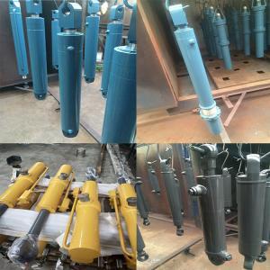 China Komatsu Volvo Hitachi Hydraulic Cylinder Steel Body Material Non Standard on sale