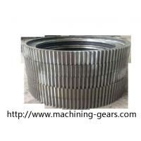 Quality Cylindrical Large Diameter Gears Aluminium Alloys Ring External Spur Gear wholesale