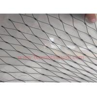Quality Black Oxide stainless steel wire rope net wholesale