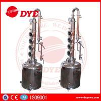 Quality 50L Professional Home Distilling Equipment 4 Plates , Vodka Distillation Kit wholesale