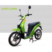 China 2 Wheels Pedal Assist Electric Bike , Electric Motor Assisted Bicycle 25-32km / H Speed on sale