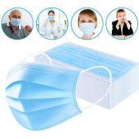 China Factory direct sales 3ply surgical mask face Disposable facemask products face mask machine on sale