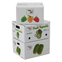 Quality Durable Corrugated Vegetable Carton Box For Shipping wholesale