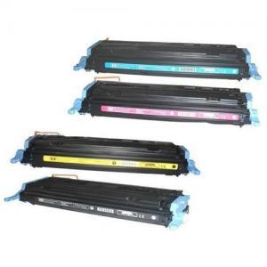 China Q6000A HP color toner cartridges  for HP Color Laser Jet1600/2600/2605 on sale