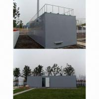 Quality FRP Communication Shelter with Hot-dipped Steel Floor and Lever Lock wholesale
