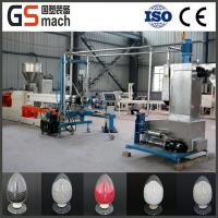 China TPU Shoe Sole Material Twin Screw Compounding Extruder on sale
