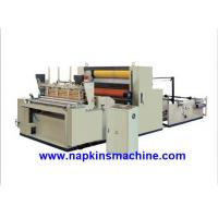 Quality Full Automatic Toilet Paper Making Machine , Jumbo Roll Toilet Tissue Machine wholesale
