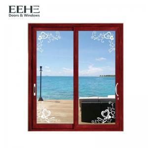 Quality Toughened Glass Aluminum Sliding Patio Doors , Light Weight Aluminium Mesh Sliding Doors wholesale