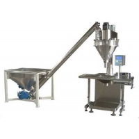 Quality Manual 26L Semi Automatic Powder Filling Machine Auger With Screw Conveyor wholesale