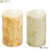 Quality Classical Led Garden Candle Stakes/Candle Carving/Battery Operated Flicker Birthday Candle wholesale