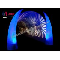 3M High Inflatable Lighting Decoration With LED Light and Blower Air Cone For Event Welcome part